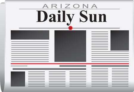 Newspaper News of Arizona, Arizona daily sun.