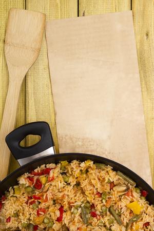 marisco: Spanish paella fish, the national dish. A dish which uses the spice saffron.