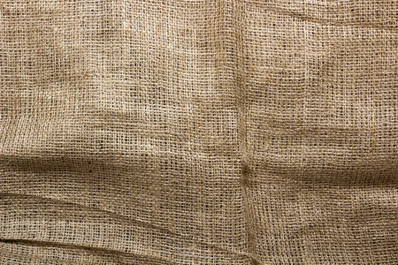 sackcloth: Background of burlap for packaging and transportation of industrial goods.