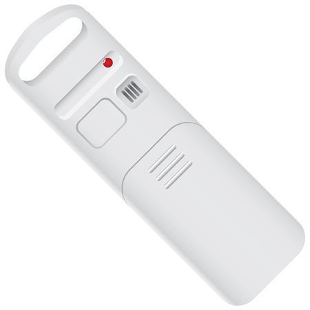 Wireless Temperature and Humidity Sensor. Vector illustration. Illustration