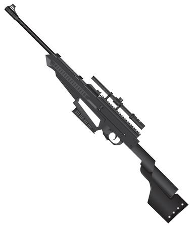 Lekki karabin snajperski na szkolenia i wykorzystania młodego strzelca.