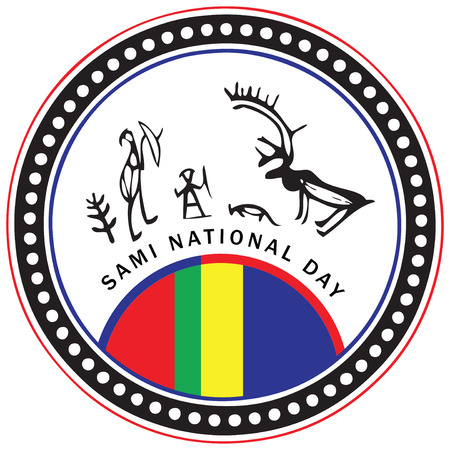nationalities: Symbol of the February celebration of Sami National Day