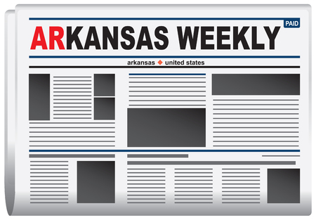 weekly: Abstract newspaper in state of Arkansas, Arkansas Weekly Newspaper