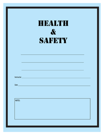 log on: Health and safety, log in the industrial works. Vector illustration.