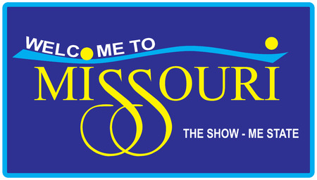 visit us: Road symbol Welcome to Missouri, the show - me state.