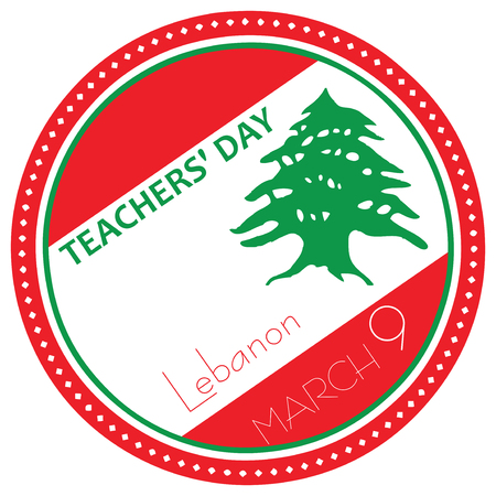 inprint: Lebanon National Day, Teachers Day on March 9th.