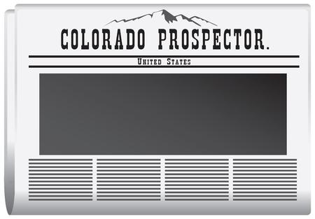 journalism: The newspaper Colorado, United States. Colorado Prospector.