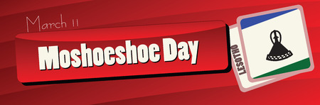 Moshoeshoe Day - March 11 public holiday in Lesotho.