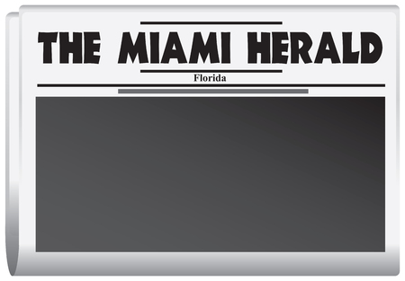 gazette: newspaper is published in Florida - The Miami Herald Illustration