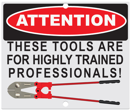 cutter: Attention! These tools are for highly qualified specialists!