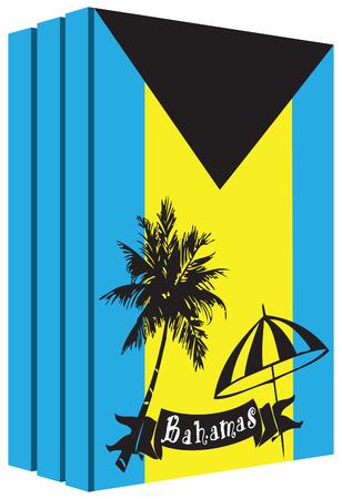 Libros sobre el país de Bahamas Foto de archivo - 54574426