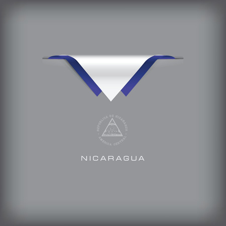 combination: The combination of colors of the national flag Nicaragua.
