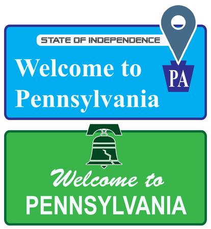 shortcuts: Set shortcuts Welcome to Pennsylvania.