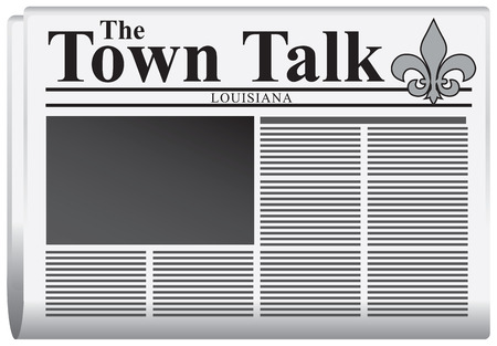 Newspaper The Town Talk, United States - Louisiana.