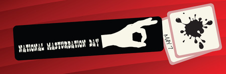 Funny banner to the National Day of Masturbation