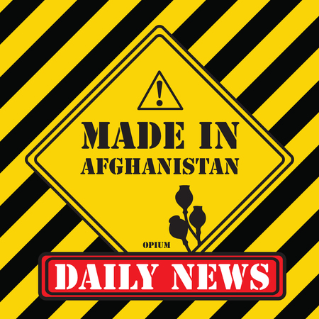 Daily News - Made in Afghanistan symbol.