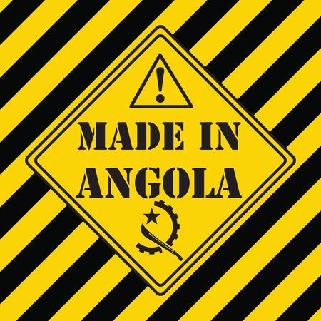 工業シンボルはアンゴラで作られています