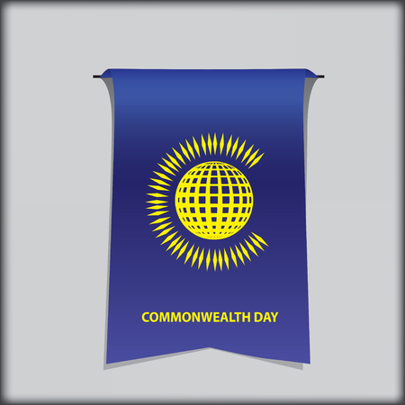 Commonwealth Day Symbolic banner for the calendar event of March