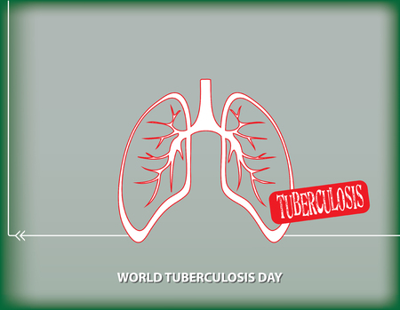 World Tuberculosis Day, a poster reminiscent of the March calendar event