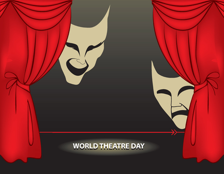 World theatre day - Calendar holiday on March