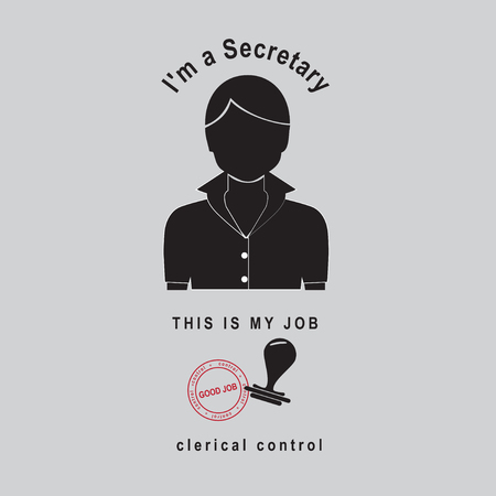 I Secretary - This is my job - and clerical control