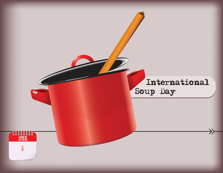 Calendar holiday of April - International Soup Day