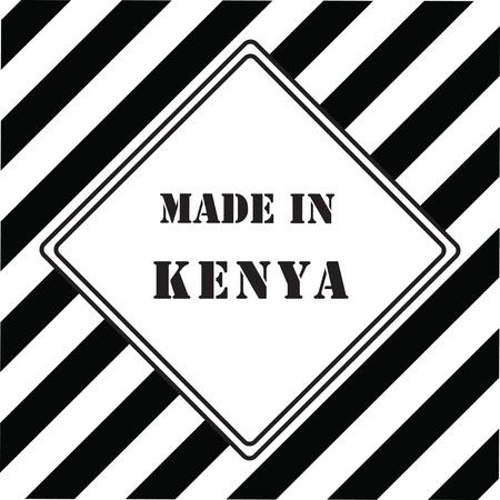 Made in Kenya symbol design