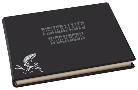 Fisherman is work bookб album format in thick cover