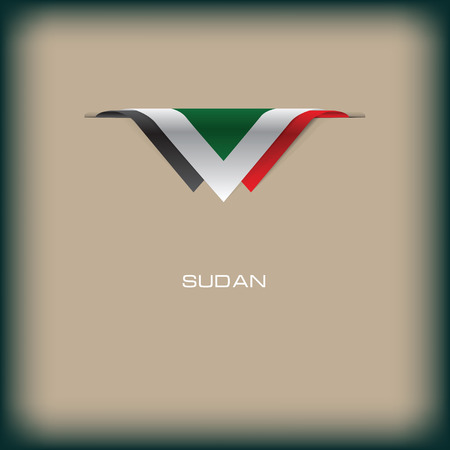 The combination of colors of the national flag Sudan