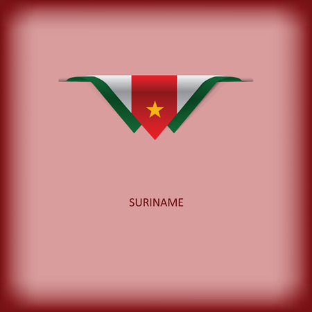 The combination of colors of the national flag Suriname