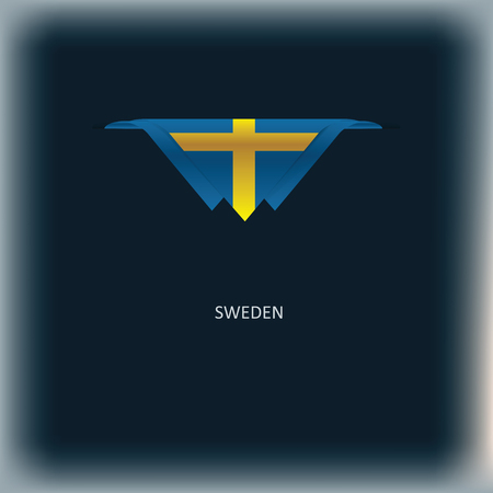The combination of colors of the national flag Sweden