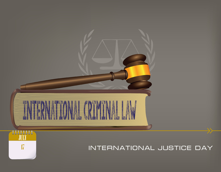 Calendar events of July - Congratulations for International Justice Day
