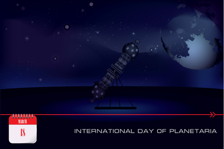 Zeiss star projector - Post card International Day of Planetaria