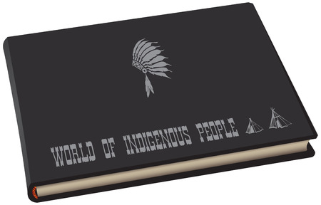 Book-album in a black cover - Great Book of Indigenous Peoples