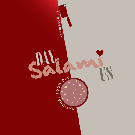 National Food Day in the US - 7 September - Day salami