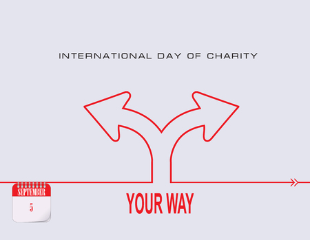 Calendar events of September - International Day of Charity