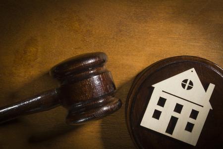 Il concetto di divisione della proprietà in tribunale