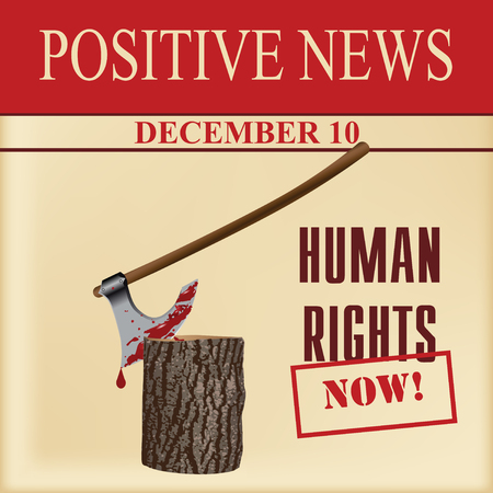 Special positive news about human rights day