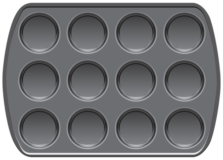 Non-stick bakeware muffin top baking pan