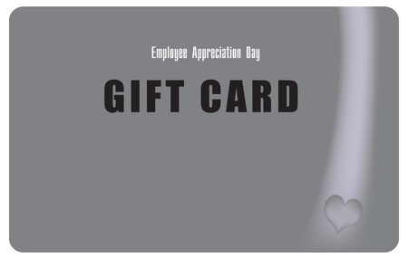 Card to encourage employees on the date Employee Appreciation Day Ilustrace