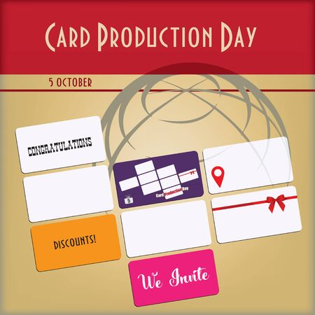 Banner Card Production Day with designer cards