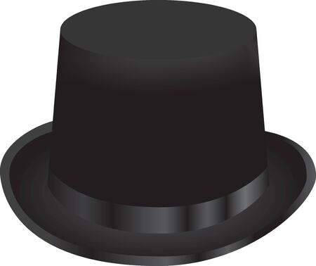 The magical black top hat is a classic magician accessory.