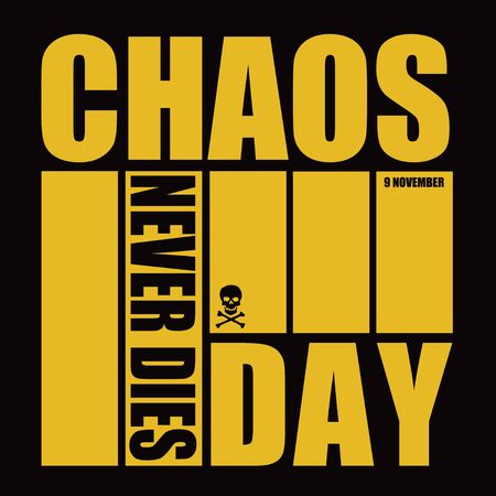 Banner for event november day - Chaos Never Dies Day