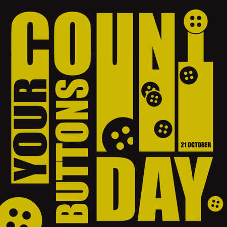Count Your Buttons Day is celebrated in October