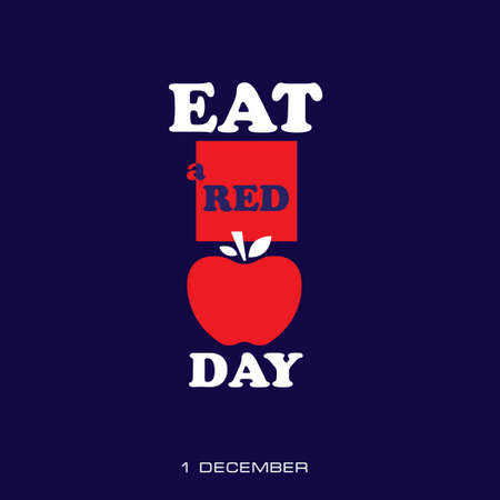 Date in December Eat A Red Apple Day