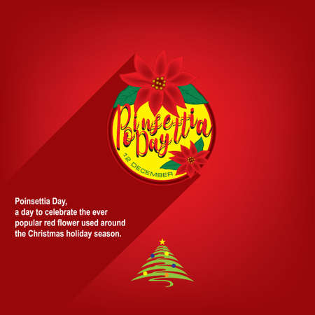 Red Flower Day is celebrated on Christmas Eve - Poinsettia Day