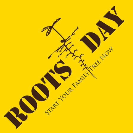 Poster to date in the month of December Roots Day
