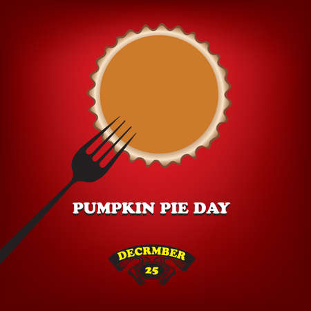 Poster to date in December Pumpkin Pie Day