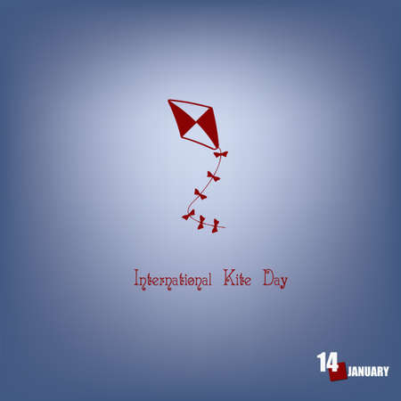 The festive date of January dedicated to the children's toy is International Kite Day.