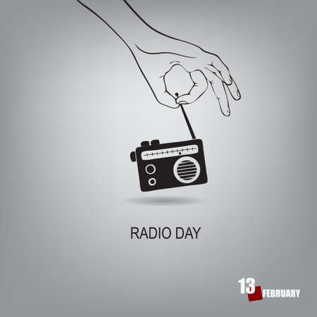 Date dedicated to the research of radio waves and radio communications - Radio Day
